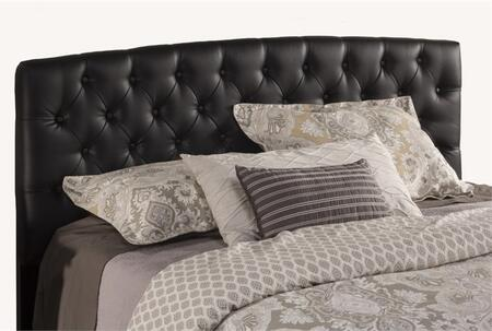 Hawthorne 1952BQF Queen Sized Bed with Headboard  Frame and Upholstered in Black