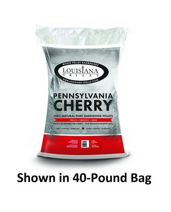 55204 20-Pound Bag Pennsylvania Cherry Wood