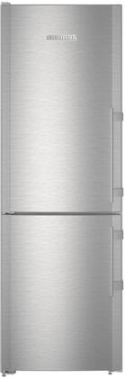 "CS1210L 24"" Energy Star Freestanding Bottom Freezer Refrigerator with 11.1 cu. ft. Total Capacity  DuoCooling  SuperFrost  SuperCool  SuperQuiet  and LED"