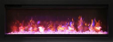Amantii SYM-60-B Electric Fireplace