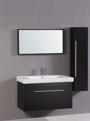 Click here for WT9002 40 Sink Vanity  Side Cabinet and Mirror wit... prices