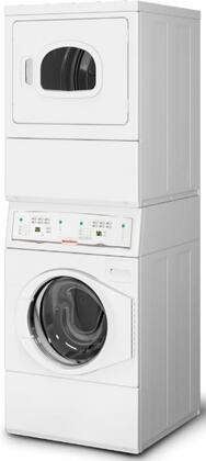 "LTEE5ASP175TW01 27"""" Washer and Dryer Laundry Center with Electric Dryer  240 Volts  60 Hz.  1 Phase  in"" 877809"