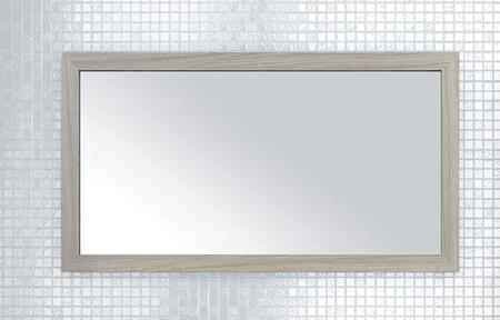 Sangallo Collection FVWEEKND40MR 40 inch  x 22 inch  Mirror with Shaker Style Frame and Hanging Wire Included in Weekend Getaway