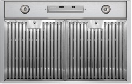 AK9134ASBF 36 inch  Essentials Power Series Monsoon Mini Cabinet Liner with 300 CFM  Dual Level Halogen Lighting and 3 Speed Mechanical Slide Controls  in Stainless