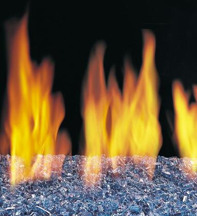OCGL-S Fire Glass and Granules in Sapphire
