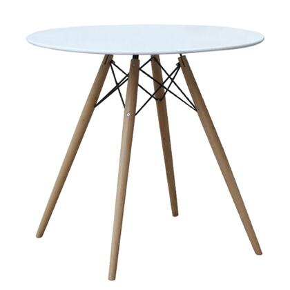 FMI10039-29-white WoodLeg Dining Table 29