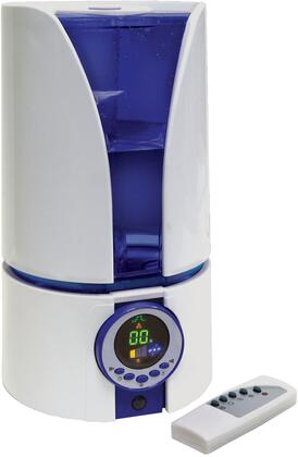 CZHD81 Ultrasonic 1.1 Gallon Humidifier with Remote  Adjustable Mist Intensity with Timer Function  Adjustable Dual Mist Vents  Built-in Night Light Function