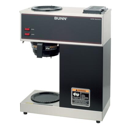 33200.0000 VPR 12 Cup Pourover Coffee Brewer with 2 Individually Controlled Warmers  Stainless Steel Internal Components and SplashGuard Funnel in