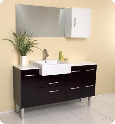Click here for Serio Collection FVN6143ES 55 Modern Bathroom Vani... prices