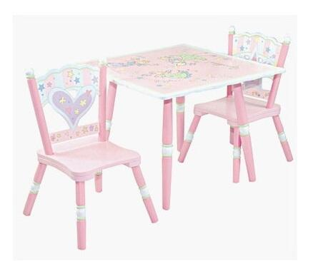 LOD61002 Fairy Wishes Table & 2 Chair