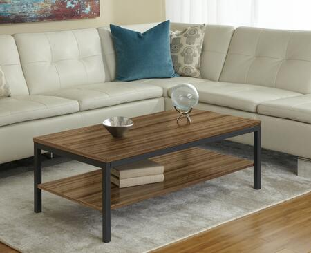 P4724S-WAL Walnut Coffee Table with