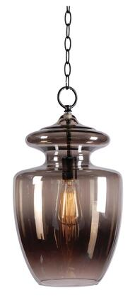 93037GR Apothecary 1 Light Pendant in Graphite 525818