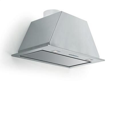 FIVAL34B5SS-1 34 inch  Insert Collection Valentina Insert with 500 CFM  Electronic Controls  Halogen Lighting  Remote Control and Durable Aluminum Filters in