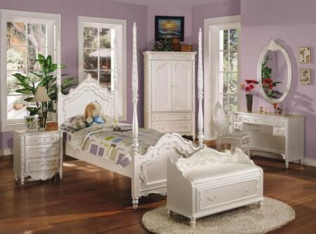 Click here for Pearl Collection 00995FNBCDM 6 PC Bedroom Set with... prices