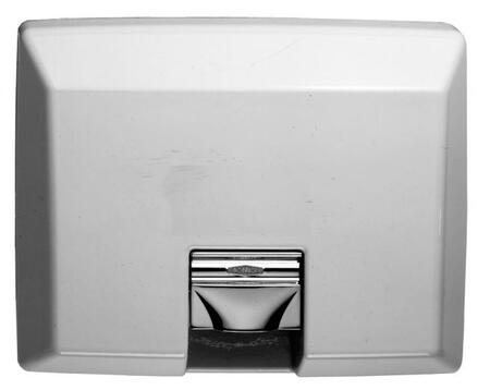 B-750 230V AirCraft ADA Recessed Hand Dryer with Automatic Sensor in White Vitreous Enamel
