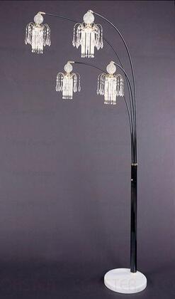 1771N 4 Chandelier Shades Floor Lamp by Coaster