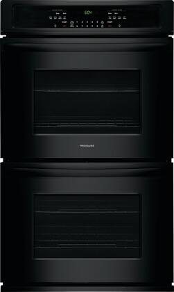 "Frigidaire 27"" Built-In Double Electric Wall Oven Black FFET2726TB"