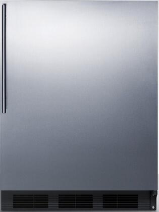 FF7BBISSHVADA 24 inch  FF7BIADA Series Medical  Commercial Freestanding or Built In Compact Refrigerator with 5.5 cu. ft. Capacity  Adjustable Spill Proof Glass