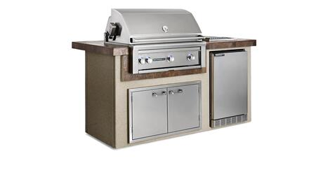 L1600C-NG Sedona Series Outdoor Kitchen Island Package with 36