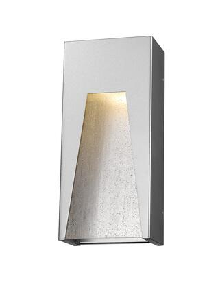 Millenial 561M-SL-SL-SDY-LED 6 1 Light Outdoor Wall Light Contemporary  Metropolitan  Modernhave Aluminum Frame with Silver finish in Clear