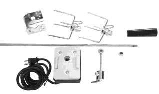 65111 Heavy Duty Rotisserie Kit 308 311635