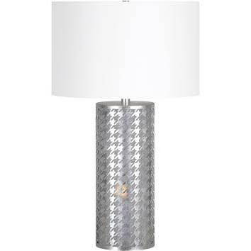 LPT573 Foxtrot Table Lamp Table Lamp in Silver