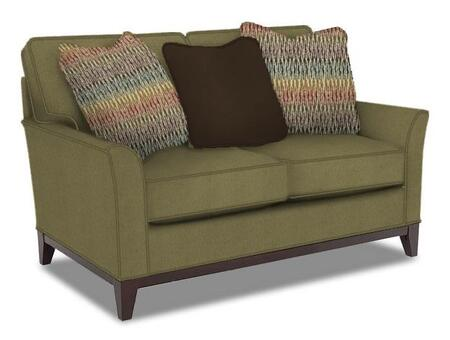 Perspectives Collection 4445-1/8937-83/4114-55/8686-89 57 inch  Wide Loveseat with 3 Pillows Included  DuraCoil Reversible Seat Cushions  Non-Sag Springs  and