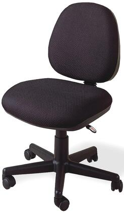4200 Office Chairs Casual Fabric Office Task Chair with Plush Back  Soft black Fabric and Adjustable Height Gas Lift in