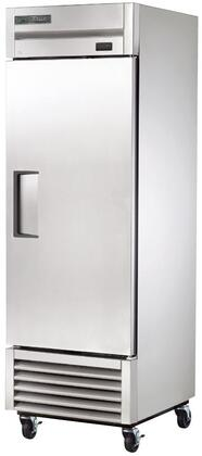 T-23-HC 27 inch  Commercial Reach-In Refrigerator with Hydrocarbon Refrigerant  Heavy Duty PVC Coated Shelves  Interior