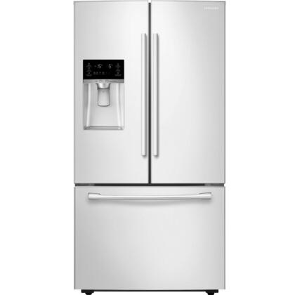 """RF23HCEDBWW 36"""" Wide Counter Depth French Door Refrigerator with 23 Cu. Ft. Capacity  Twin Cooling Plus  CoolSelect Pantry  High-Efficiency LED Lighting  and"""