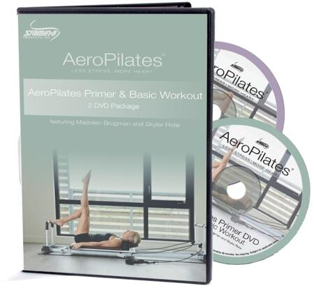 AeroPilates Collection 05-9132D Primer and Basic Workout Package with Two Beginner Workouts