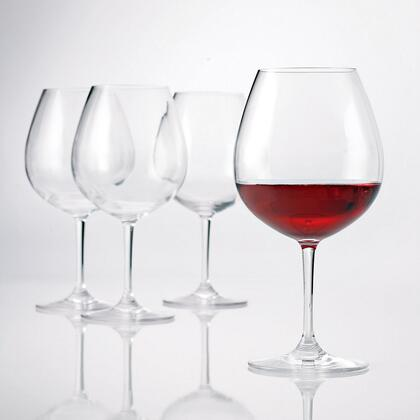 766 01 04 Indoor/Outdoor Pinot Noir Wine Glasses (Set of