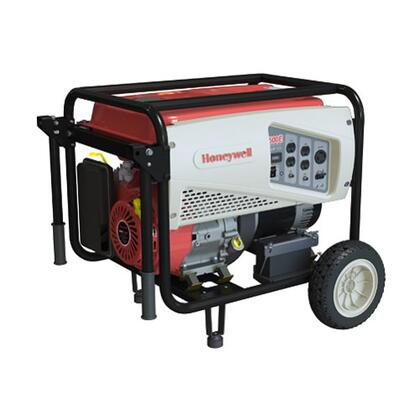 6037 5500 Watt Portable Electric Generator with Generac OHV Engine  5.8 Gallon Steel Fuel Tank  and Heavy Duty 294038