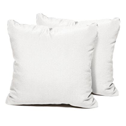 Pillow-white-s-2x Sail White Outdoor Throw Pillows Square Set Of