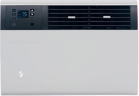 EQ08N11D 20 Kuhl Series Room Air Conditioner with Electric Heat  7900 BTU Cooling Capacity  24-hour timer  Automatic fan speed adjustment  LCD panel