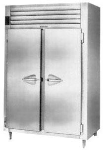 RHT226WFHS Reach-In Refrigerator with 2 Sections  40.8 Cu. Ft. Capacity  6 inch  Adjustable Legs  and 3 Adjustable Wire Shelves  in Stainless