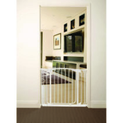 L786W Chelsea Swing Close Gate Extra Value Pack with 2 Gates and 2 Extensions in