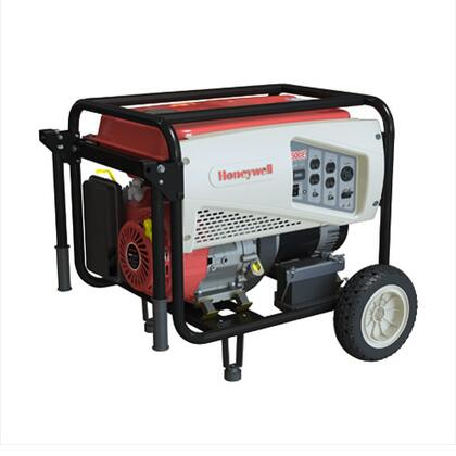 6039 7500 Watt Electric Start Portable Generator with 5.8 Gallon Fuel Tank  Generac OHV Engine  and Heavy Duty