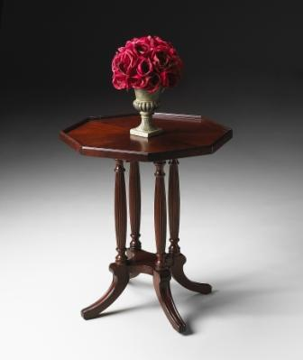 5015024 Plantation Cherry Collection Octagon Accent