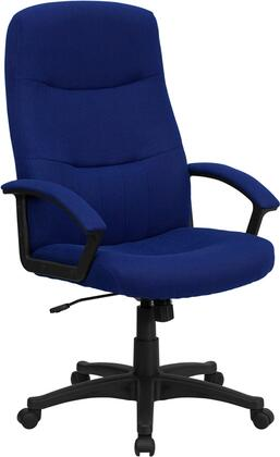 BT-134A-NVY-GG High Back Navy Blue Fabric Executive Swivel Office