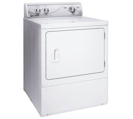 "ADE4BRG 27"" Electric Dryer with 7.0 cu. ft. Capacity  4 Drying Cycles  1/3 HP Motor  Secured Lint Filter and 220 CFM Exhaust Fan in"