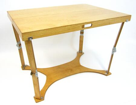 CP3042-GO Hand Crafted and Custom Finished Picnic Folding Table in Golden