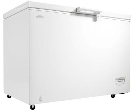 DCFM110B1WDB Chest Freezer with 11 cu. ft. of Capacity  Energy Efficient  Mechanical Thermostat  Manual Defrost  in