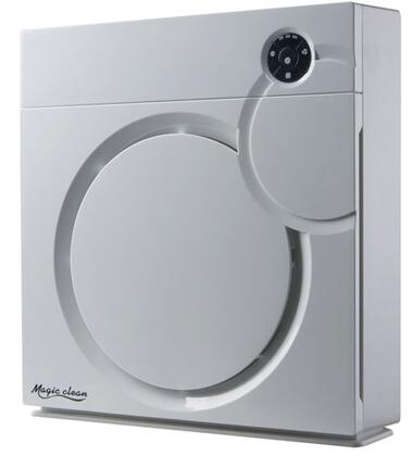 Sunpentown AC-7014W HEPA Air Purifier With Ion Flow Technology - White 2855790
