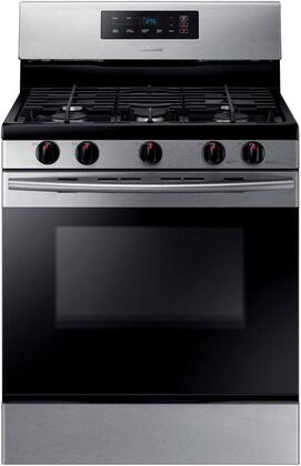 "NX58K3310SS 30"" Freestanding Gas Range with 5.8 cu. ft. Oven Capacity  5 burners  Touch Control and Storage drawer in Stainless"