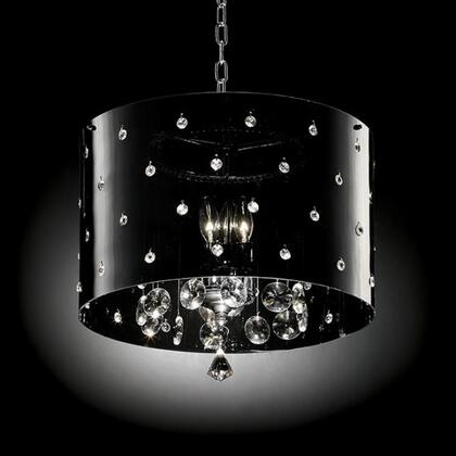 Bronte L95120H Ceiling Lamp with Crystal Lamp  Chain Length: 48