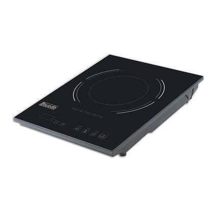 "P3D-6 12"" Induction Cooker with Digital Temperature Control High quality glass cook top and hard plastic frame in Black: Purchase of 6"