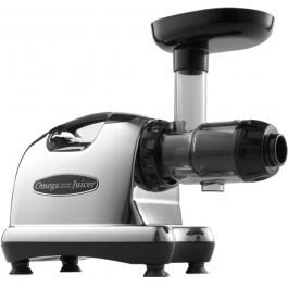 J8006 Masticating Juicer with 80 RPM Low-Speed  150 Watts  Dual Stage Extraction and High Juice Yield in