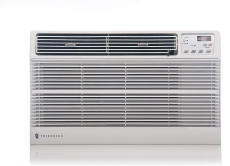 UE10D33D 25 Uni-fit Thru-the-Wall Air Conditioner with 10000 BTU Cooling Capacity  Electric Heating  6-Way Air Flow  3 Fan Speeds  24-Hour Timer