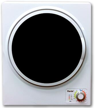 PAN725F 20 inch  Compact Dryer with 4 Dryer Programs  Automatic Shut-Off Function  Removable Lint Filter  and Stainless Steel Tub Material: